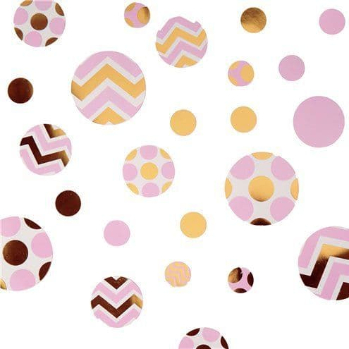 Confetti: Pattern Works Pink Table Confetti