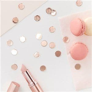 Confetti: Rose Gold Table Confetti - 14g