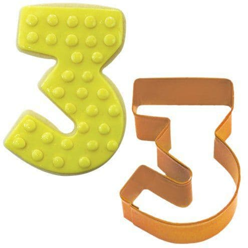 Cooker: Number 3 Cookie Cutter