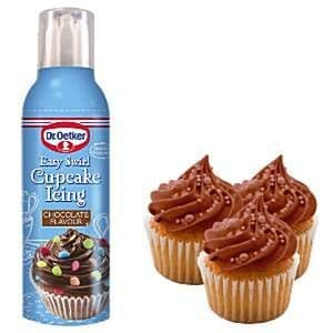 Cupcakes: Chocolate Easy Swirl Cupcake Icing - Dr Oetker (180g) UK ONLY