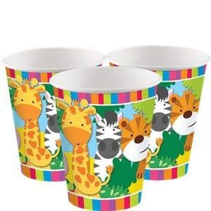 Cups: Animal Friends Cups - 266 ml x8pk