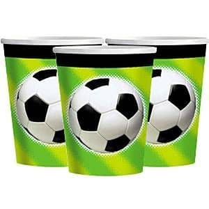 Cups: Championship Soccer Cups x8