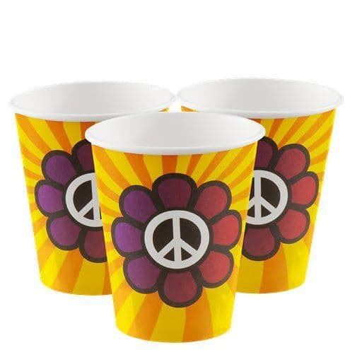 Cups: Hippie Cups - 250ml x6pk