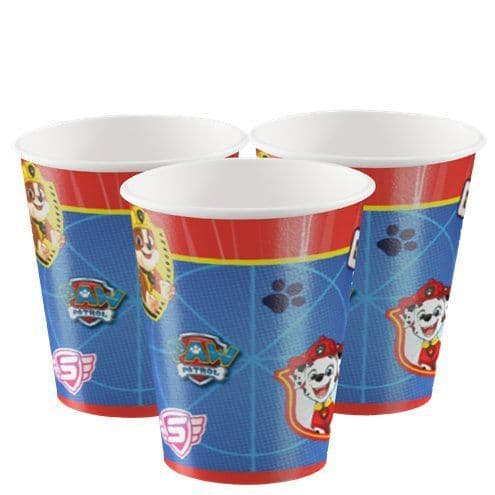 Cups: Paw Patrol Paper Cups - 250ml (8pk)