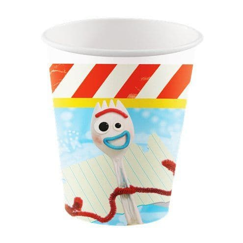 Cups: Toy Story 4 Paper Cups - 266ml x8pk