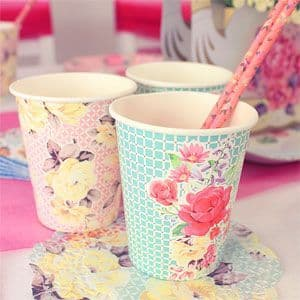 Cups: Truly Scrumptious Cups - 250ml Paper Party Cups