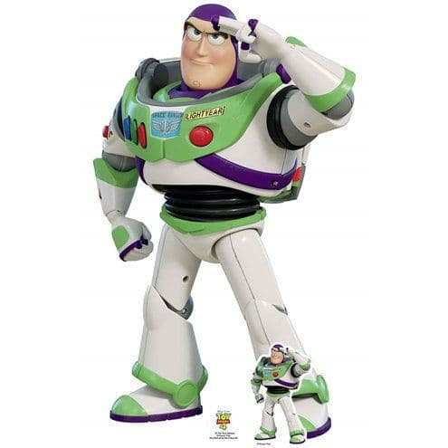 Cutout: Buzz Lightyear Cardboard Cutout - 1.29m