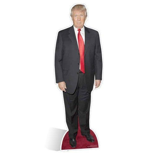 Cutout: Donald Trump Cardboard Cutout - 1.86m