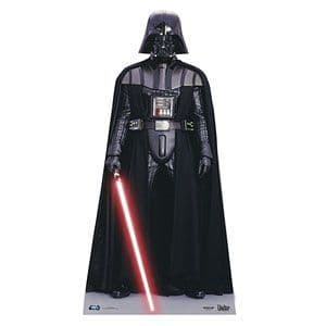 Cutouts: Darth Vader Mini Cardboard Cutout - 95cm