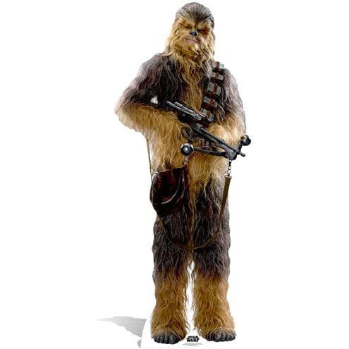Cutouts: Star Wars Chewbacca Cardboard Cutout - 1.93m