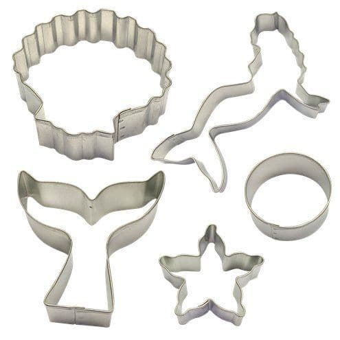 Cutters: Mermaid Cookie Cutter Decorating Kit