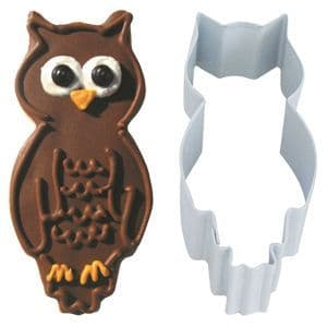 Cutters:  Owl Cookie or Biscuit Cutter