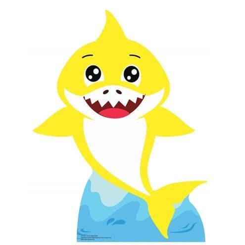 Decoration: Baby Shark Cardboard Cut Out - 93cm