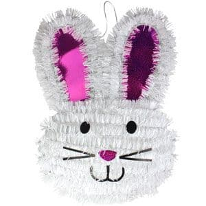 Decoration: Easter Tinsel Bunny - 35cm (each)