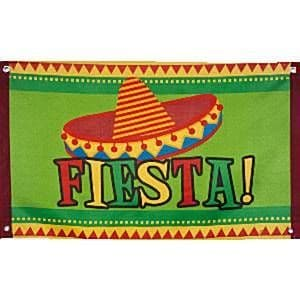 Decoration: Fiesta Flag - 90cm Mexican Decoration