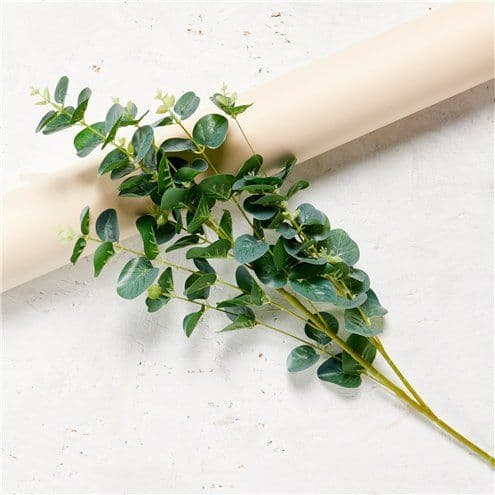 Decoration: Green Eucalyptus Spray - 90cm