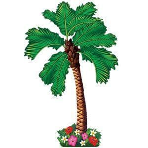 Decoration: Hawaiian Jointed Palm Tree Decoration - 1.82m