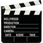 Decoration: Hollywood Directors Clapboard (each)