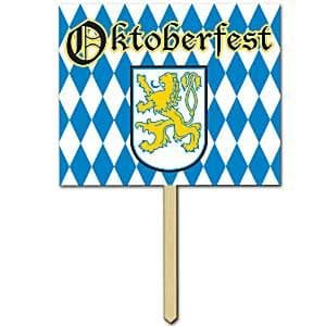 Decoration: Oktoberfest Yard Sign - 38cm