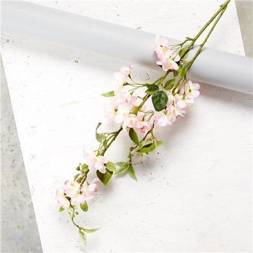 Decoration: Pink Cherry Blossom Spray Decoration - 1.25m