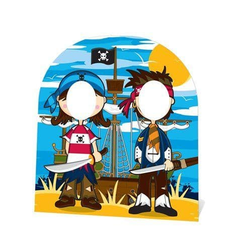 Decoration: Pirate Friends Stand In Photo Prop - 1.2m