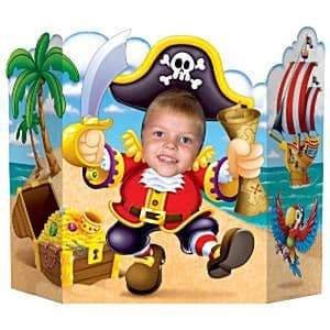 Decoration: Pirates Buried Treasure Party Pirate Photo Prop