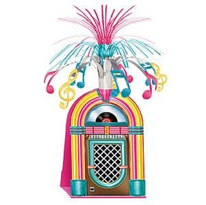 Decoration: Rock 'n' Roll Jukebox Centrepiece (each)