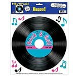 Decoration: Rock 'n' Roll Record Add-On (each)
