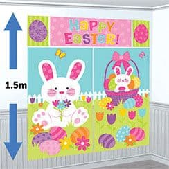 Decorations: Easter Scene Setter Wall Kit - 1.5m (5pk)