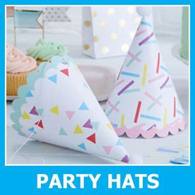 Disposable Party Hats & Headwear