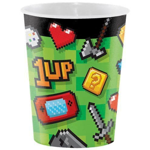 Favour Cup: Game On Plastic Favour Cup - 473ml (Discount More you buy)