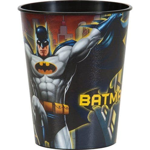 Favour Cups: Batman Plastic Favour Cup (discount more you buy)