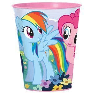 Favour Cups: My Little Pony Plastic Favour Cup - 455ml (discount the more you buy)