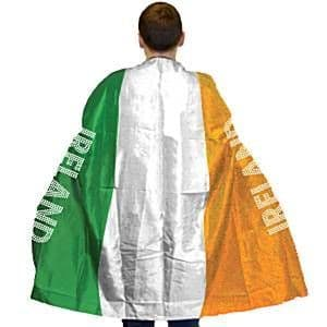 Flag: Irish Flag Body Cape - One Size St Patrick's Day