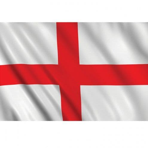 Flag: St. George's Day England Cloth Flag - 5ft x 3ft (each)