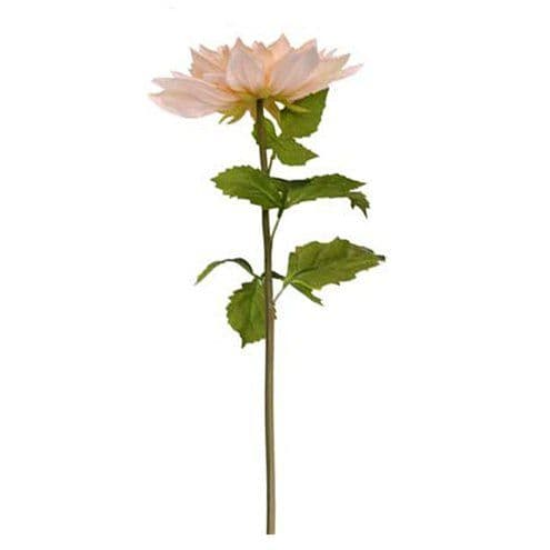 Flower: Giant Peach Artificial Flower Decoration - 106cm