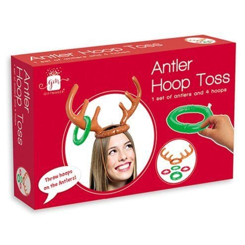 Game: Inflatable Antler Hoop Toss Game