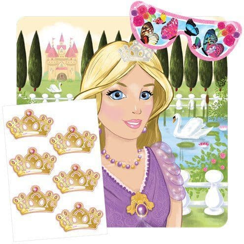 Game: Princess Stick the Crown Game