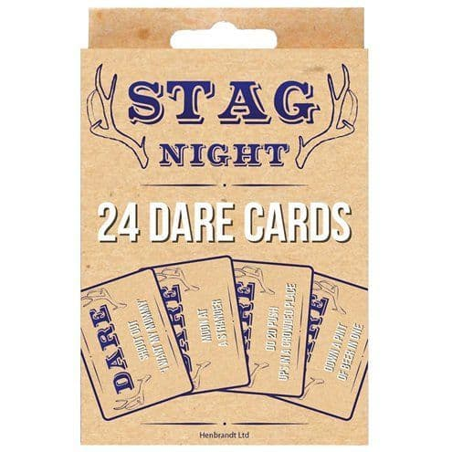 Game: Stag Night Dare Cards x24pk