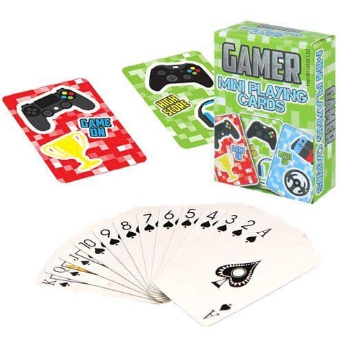 Games: Gamer Mini Playing Cards