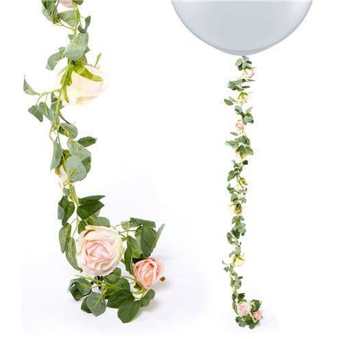 Garland: Light Pink Rose Garland - 1.75m