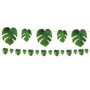 Garland: Tropical Palm Leaf Garland - 2.74m