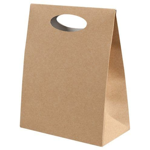 Gift Bag: Compostable Kraft Gift Pouches x6pk