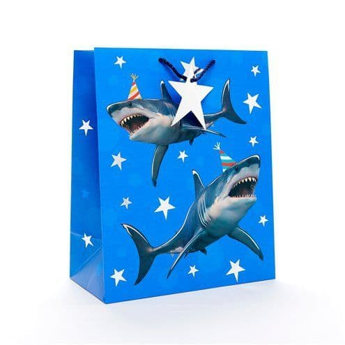 Gift Bag: Shark Large Gift Bag - 33cm