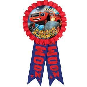 Gift: Blaze and the Monster Machines Confetti Filled Award Ribbon (each)