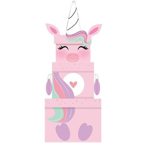 Gift Boxes: Unicorn Plush Stacking Box