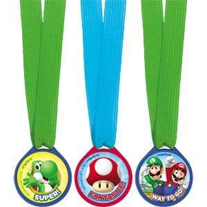 Gift: Super Mario Mini Award Medals 12pk