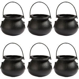 Gifts: Cauldron Treat Buckets - 6cm (12pk)