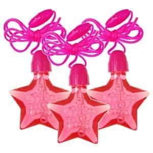 Gifts: Star Bubble Necklaces (4pk)