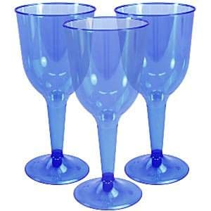 Glasses: Bright Royal Blue Bright Royal Blue Wine 295ml (20pk)